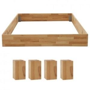 bettrahmen classic 325 massivholz kernbuche mit f en dico. Black Bedroom Furniture Sets. Home Design Ideas
