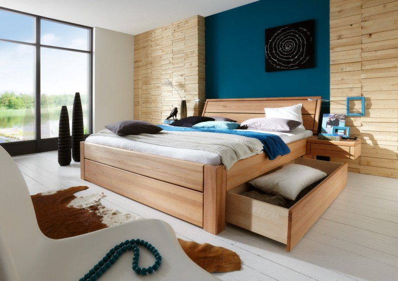 toernbo bett mit bettkasten komforth he 45 cm easy sleep. Black Bedroom Furniture Sets. Home Design Ideas